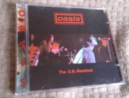 """CD Oasis raro """"The U.K. Remixes"""" importado excelente estado"""