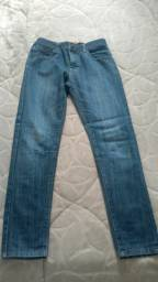 Calça jeans juvenil Tam 12