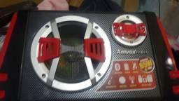 Caixa amvox 65w RMS