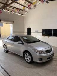 Corolla 1.8 xei automático 2010/2010 o mais novo do estado de Sergipe