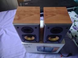 Par de Monitores Edifier R1000t4 24w Rms-Aceito Trocas