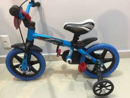 Bicicleta Infantil Aro 12 Veloz Nathor pouquíssimo usada