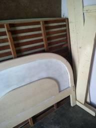 Vendo essa cama de casal madeira com o colchão