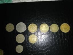 Lote de moedas de Réis