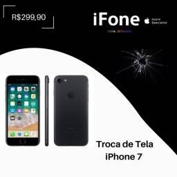 Troca de tela iPhone 7