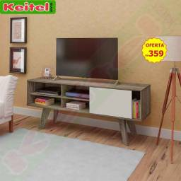 Rack P/ Tv Vip R$359,00 ? Cor: Canela Com Off White
