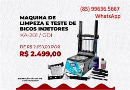 Maquina de Teste e Limpeza de Injetores/GDI