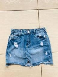 Saia jeans 25,00