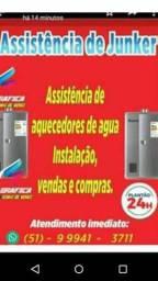 Conserto de aquecedores de agua