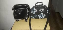 1 maletinha e 1 mochila somente 1 preço