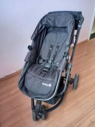 Carrinho de Bebê Travel System Mobi Full Black - Safety 1st<br><br>