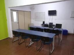 Bancada / Mesa azul  2,50 x 0,60