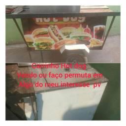 Carrinho hotdog