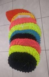Tapetes de crochê várias cores e modelos
