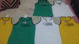 Camisetas Cyclones e Quiksilver 30,00 R$