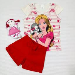 Conjunto Menina Pronta Entrega! Barbie