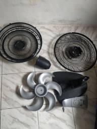 Peças ventilador arno