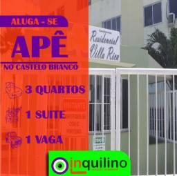 Apto no Cond. Villa Rica - No Ponto Novo - Próximo a Prefeitura de Aracaju