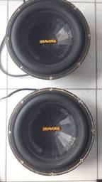 Fone 12 Bravox 2 k 800watts de potência cada