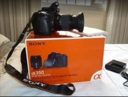 Câmera Sony alpha 350 - DSLR
