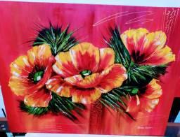 Vendo quadro lindíssimo pintado em tela com tinta óleo