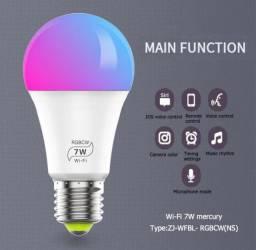 Lâmpada Smart Led Wi-Fi