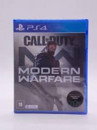 Call Of Duty Modern Warfare Play Station 4 Original Mídia Física
