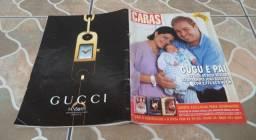 Revista Caras 16 De Novembro De 2001. Capa Gugu Liberato