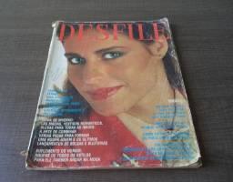 Revista Desfile 1978 Capa Maria Eugênia