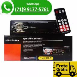 Som Automotivo Bluetooth Stereo Usb Fm Radio Mp5 Mp3 Player (NOVO)