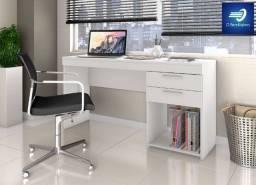 Mesa Office com 2 Gavetas 1 Nicho #FreteGRÁTIS* #Garantia #Lacrado
