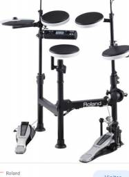 Roland td4 + pedal bumbo + 2 pads