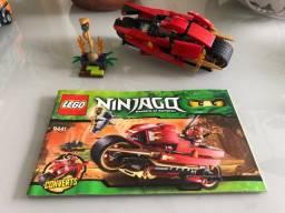 Lego 9441 - Ninjago moto original com Manual