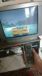 """Tv Philco 29"""" tubo em ótimo estado com controle remoto"""