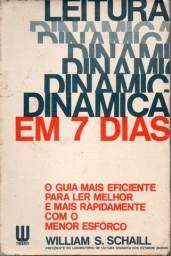 Livro - Leitura Dinâmica Em 7 Dias - William S. Schaill