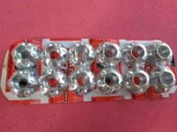 Arruelas de acabamento em aluminio usinado em cnc
