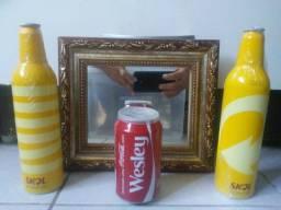 Latas e garrafas pra colecionar ou presentear