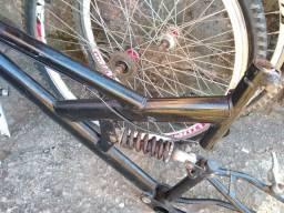 Bicicleta de mola.