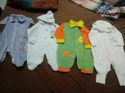 Lote roupinhas para bebê menino tamanhos RN a 3 mêses