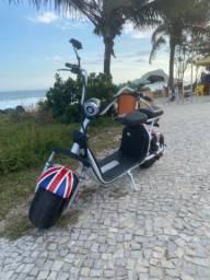 Scooter elétrica 2 lugares Inglaterra