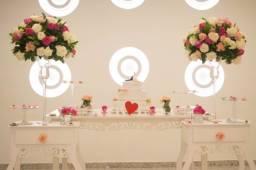 Buffet e salão para casamento com preço promocional para 2021