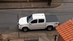 Hilux cd srv turbo diesel automático com passagem de Leilão