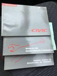 Honda civic lx 1.6 1999 novo!!!