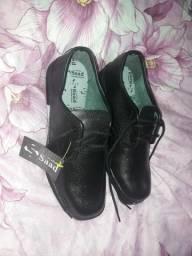Sapato social de couro preto 42