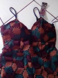 Macao pantacour Guipir de seda forrado Avizo wear