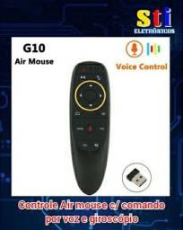 Controle Air mause c/ comando por voz e giroscópio