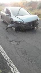 Compro frente do Honda Civic,  painel frontal parachoque e tudo que tem na imagen