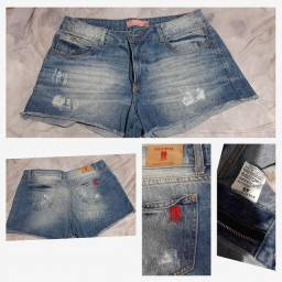 Bermuda jeans polo tamanho 44