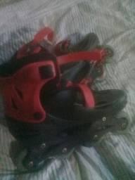 vendo patins usado por 50$ reais