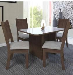 Mesa de jantar 4 cadeiras mega promoção mesa 4 cadeiras